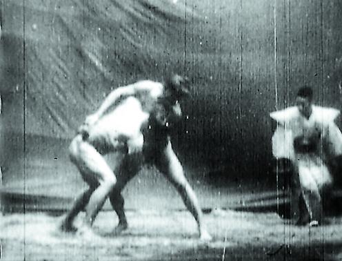 明治二十八年の両國大相撲