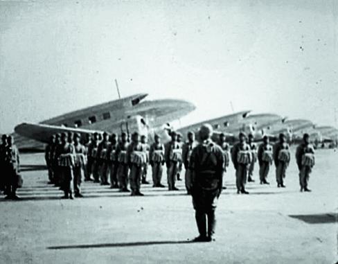 空の神兵・陸軍落下傘部隊訓練の記録